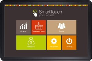 Программа для кафе на планшете и ресторанов SmartTouchPOS бесплатно